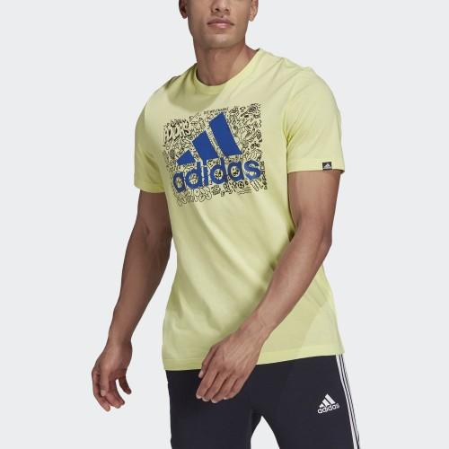 мъжка тениска MEN DOODLE LOGO GRAPHIC T-SHIRT