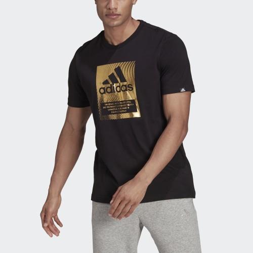 мъжка тениска MEN BADGE OF SPORT BOX FOIL GRAPHIC T-SHIRT