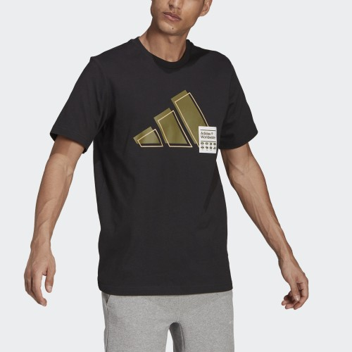 мъжка тениска 3 BAR GRAPHIC TEE MEN