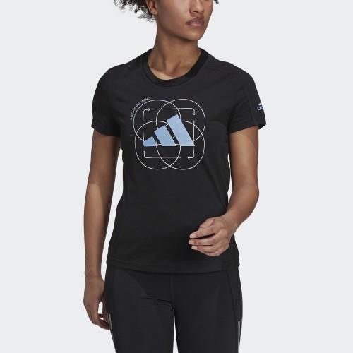 дамска тениска RUN LOGO W 2