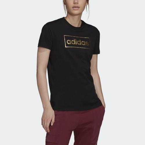 дамска тениска WOMEN FOIL BOX GRAPHIC T-SHIRT