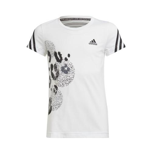 д/дамска тениска Cotton 3-Stripes Graphic T-shirt