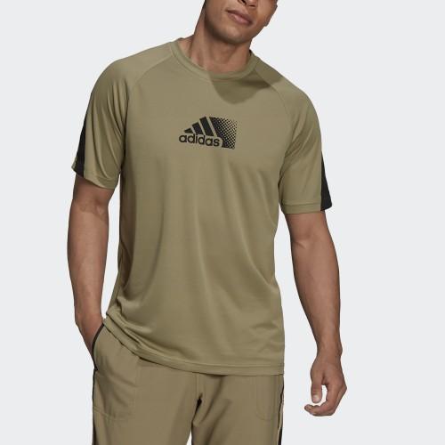 мъжка тениска ADIDAS MEN D2M SEASONAL T-SHIRT
