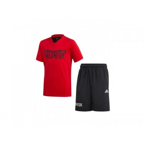 детски комплект тениска и къси панталони JB PRED SUM SET